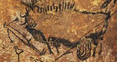 Lascaux gravure du puit